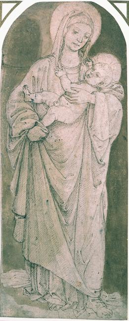 Francesco di Simone Ferrucci (Fiesole 1437 - Florence 1493).  Madonna and Child. National Galleries of Scotland.